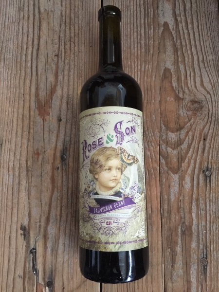 Rose & Son Sauvignon Blanc Santa Ynez Valley 2016  - Les Marchands Wine Bar & Merchant