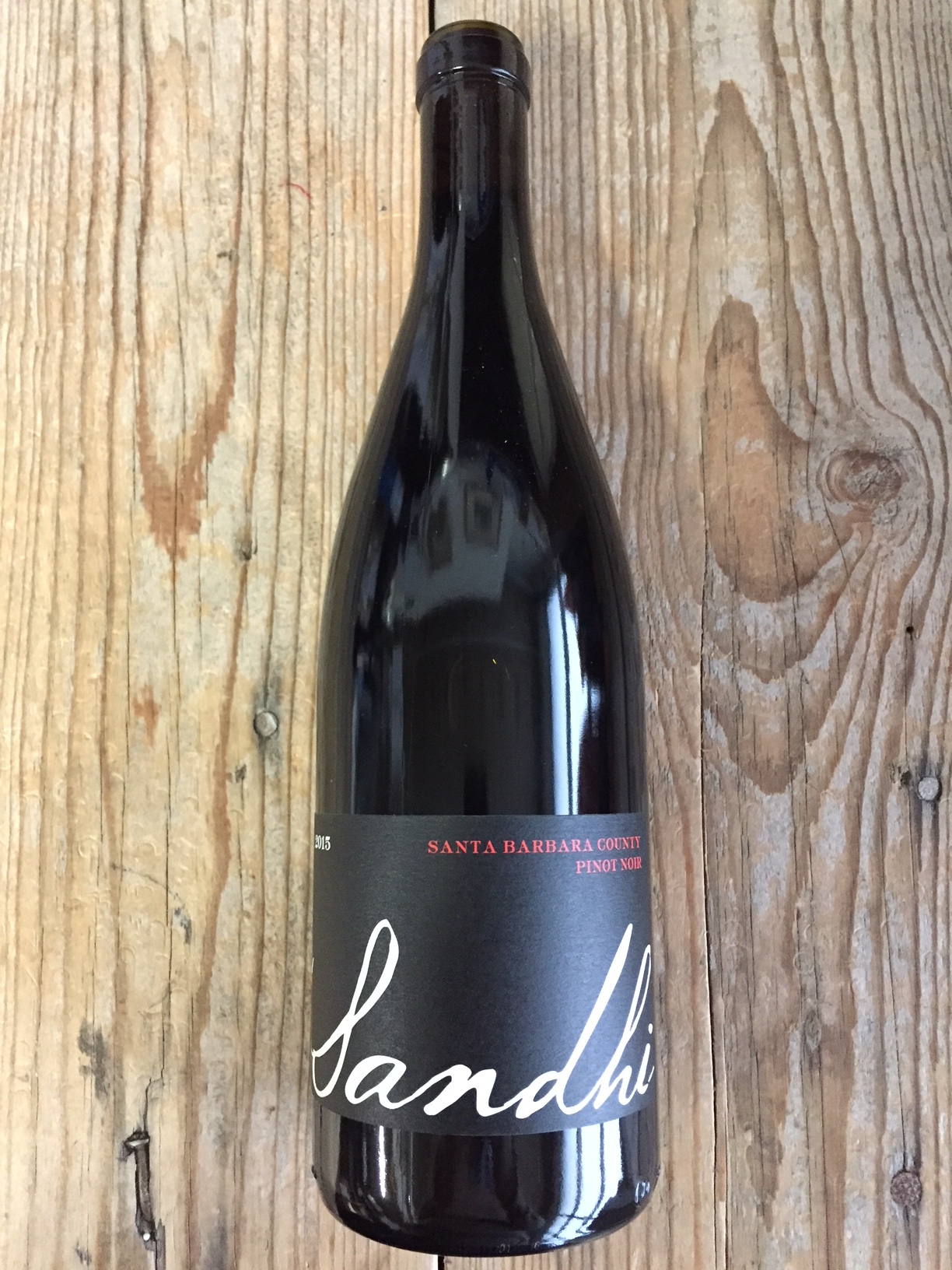 Sandhi Pinot Noir Santa Barbara County 2015  - Les Marchands Wine Bar & Merchant