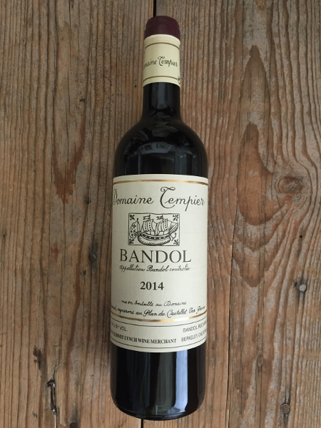 Tempier Bandol Rouge 2014  - Les Marchands Wine Bar & Merchant