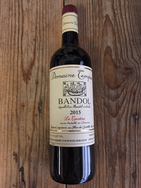Tempier Bandol La Tourtine 2015  - Les Marchands Wine Bar & Merchant