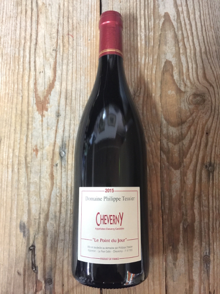 Tessier Cheverny Le Point du Jour Rouge 2015  - Les Marchands Wine Bar & Merchant