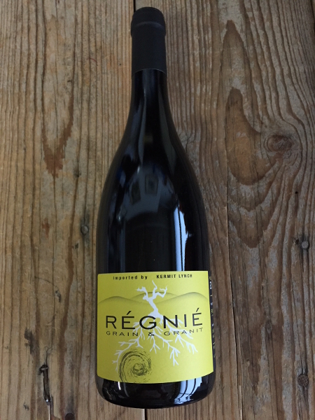 Charly Thevenet Regnie Grain & Granit 2015  - Les Marchands Restaurant & Wine Shop