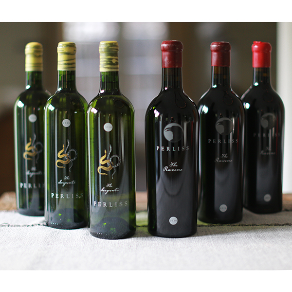 3 RAVENS + 3 SERPENTS- 6 Pack Vertical Cabernet Sauvignon & Sémillon - Perliss Estate Vineyards