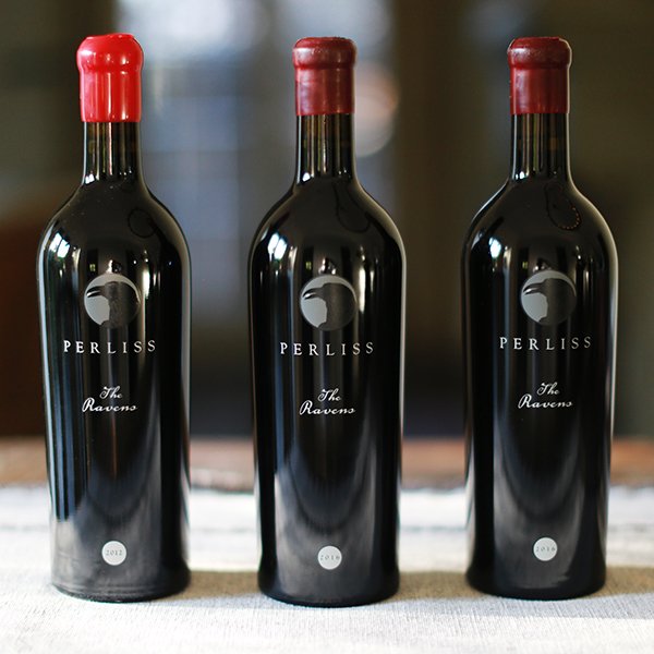 The RAVENS - 3 Pack Vertical Cabernet Sauvignon - Perliss Estate Vineyards