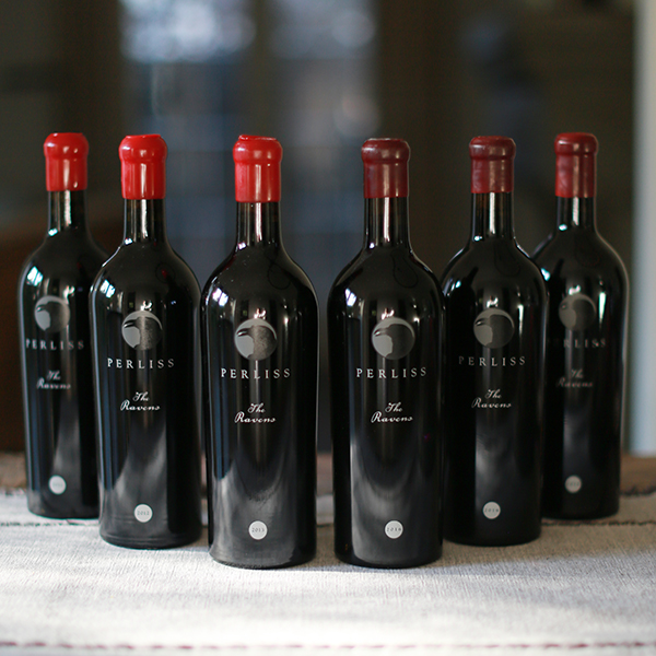 The RAVENS - 6 Pack Vertical Cabernet Sauvignon - Perliss Estate Vineyards