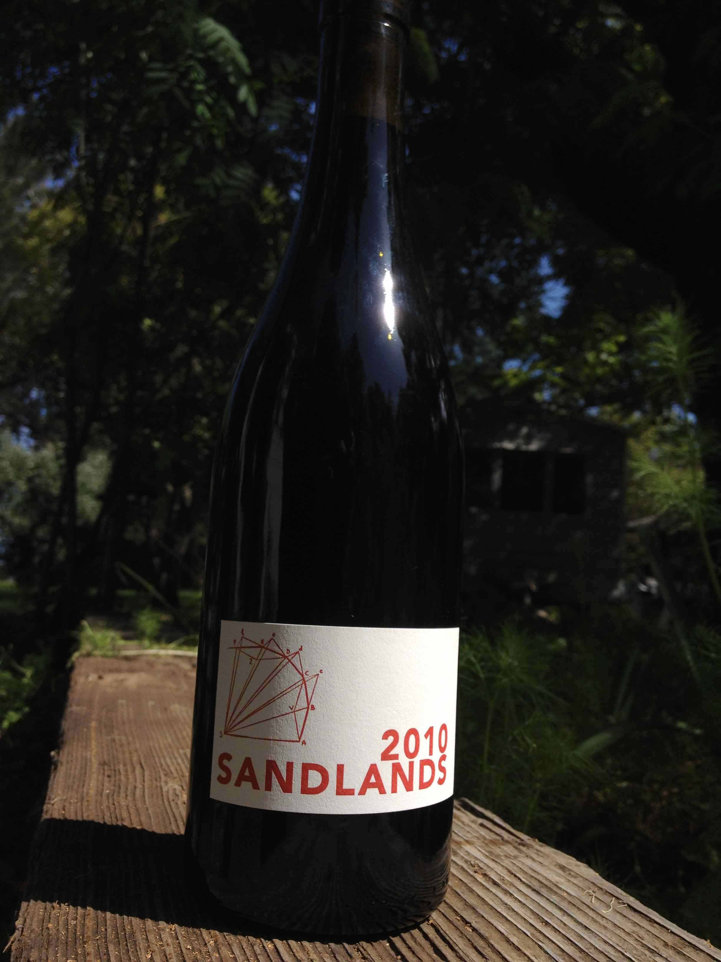 2010 sandlands tom delbarba vineyards - The Scholium Project