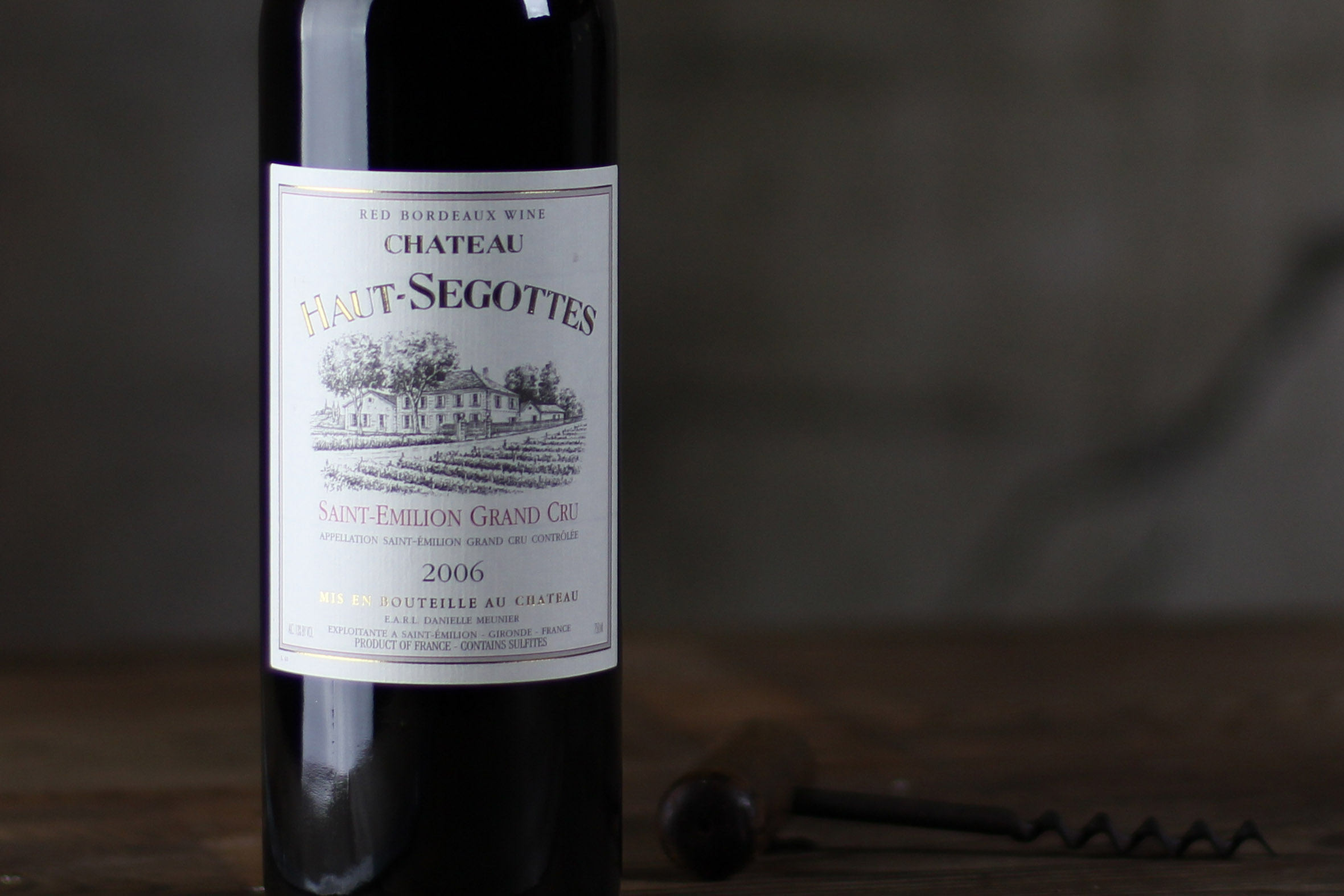 SommSelect: Château Haut-Segottes, Saint Émilion Grand Cru Bordeaux, France 2006 - SommSelect