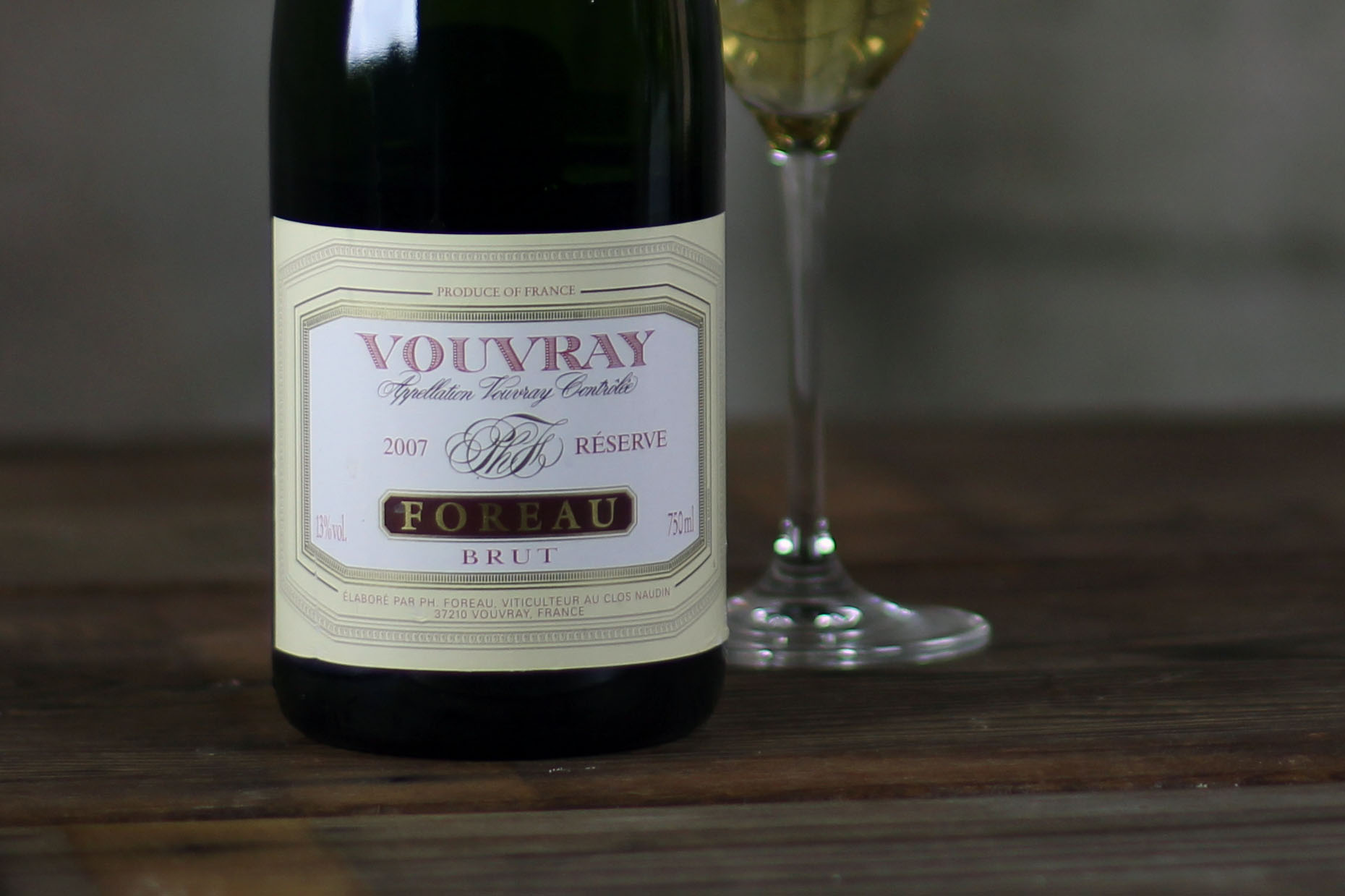 SommSelect: Philippe Foreau - Domaine du Clos Naudin Sparkling Brut Reserve, Vouvray, Loire Valley, France, 2007 - SommSelect