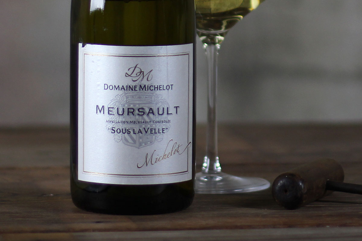 SommSelect: Domaine Michelot, Meursault, Sous le Velle Côte de Beaune, Burgundy, France 2012 - SommSelect