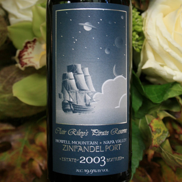 2003 Clair Rileys Pirate Reserve Zin Port Howell Mountain, Napa Valley - Summit Lake Vineyards & Winery