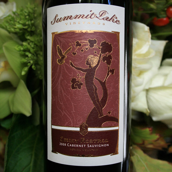 2008 Emily Kestrel Cabernet Sauvignon Howell Mountain, Napa Valley - Summit Lake Vineyards & Winery