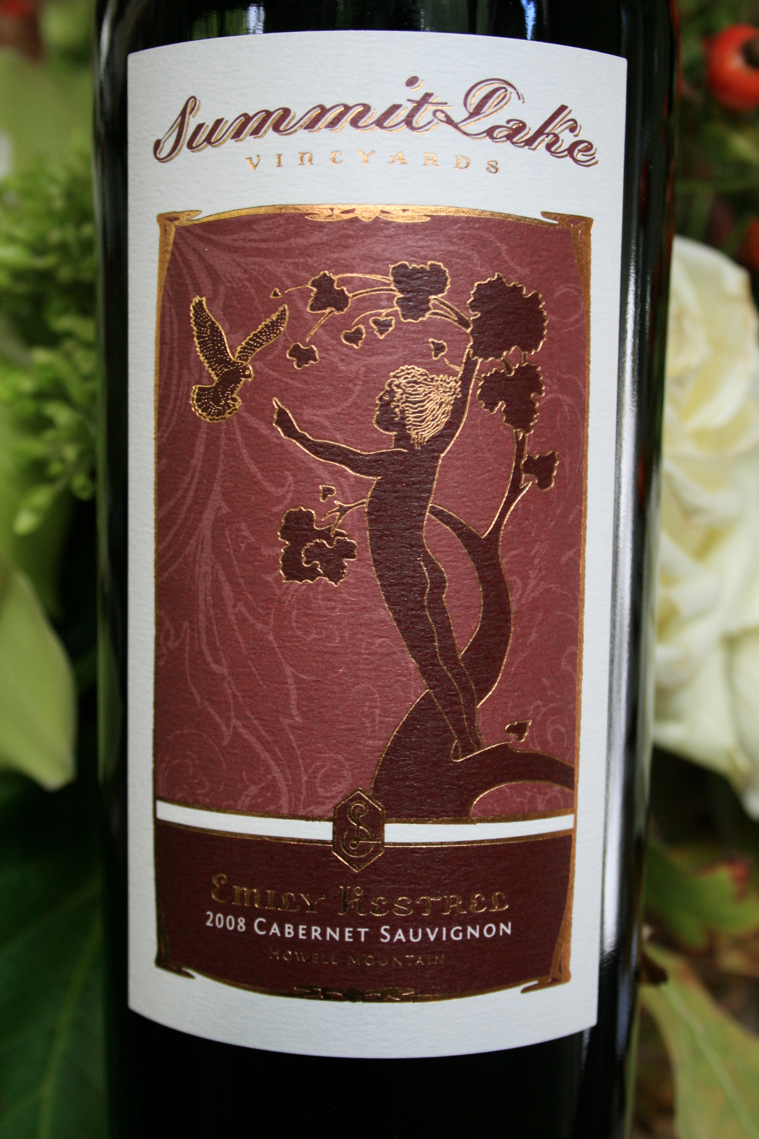 2010 Emily Kestrel Cabernet Sauvignon Howell Mountain, Napa Valley - Summit Lake Vineyards & Winery