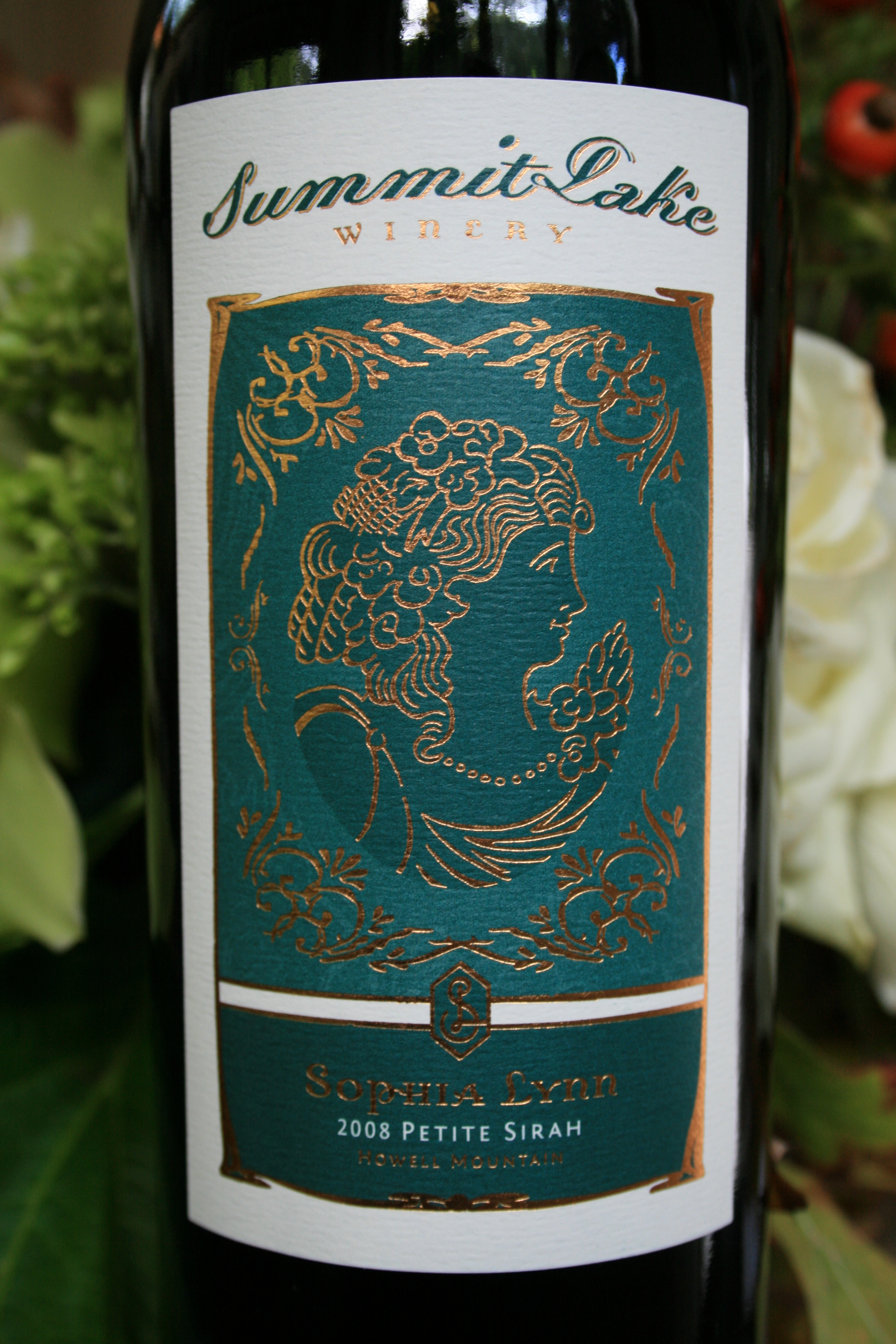 2011 Sophia Lynn Petite Sirah Howell Mountain, Napa Valley - Summit Lake Vineyards & Winery