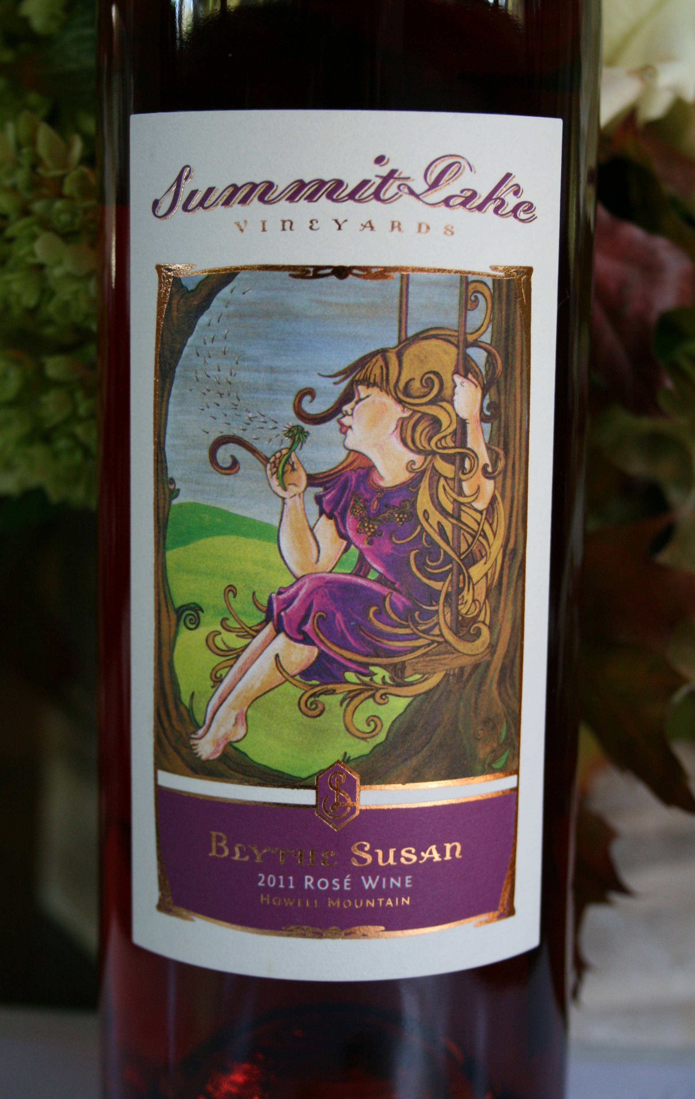 2014 Blythe Susan Rose Howell Mountain, Napa Valley - Summit Lake Vineyards & Winery