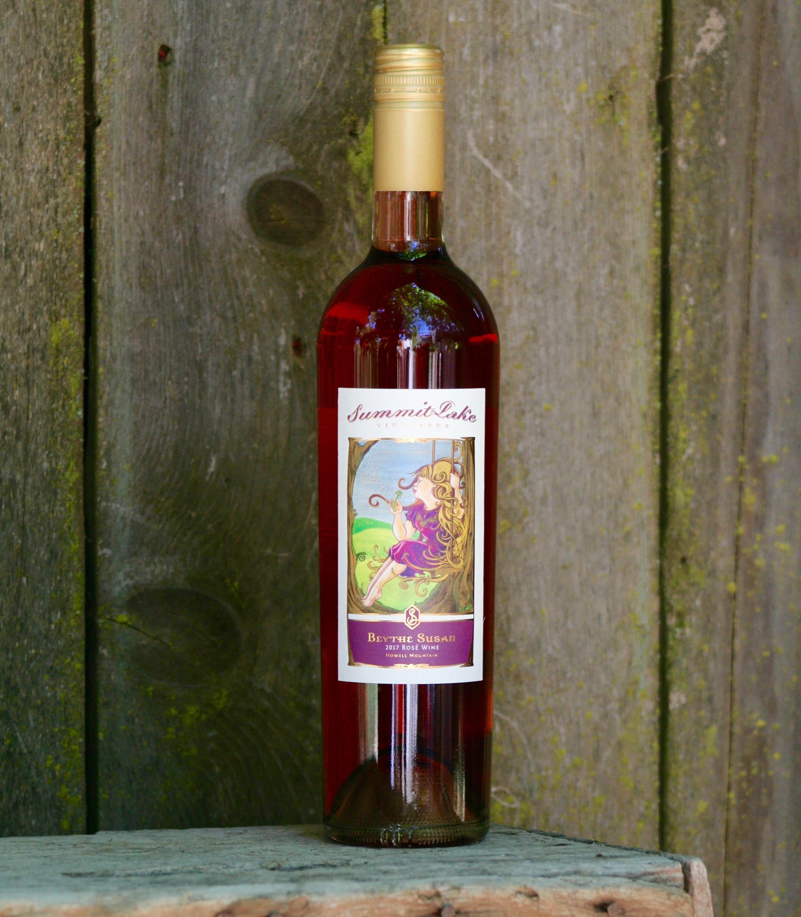 2017 Blythe Susan Rose  - Summit Lake Vineyards & Winery