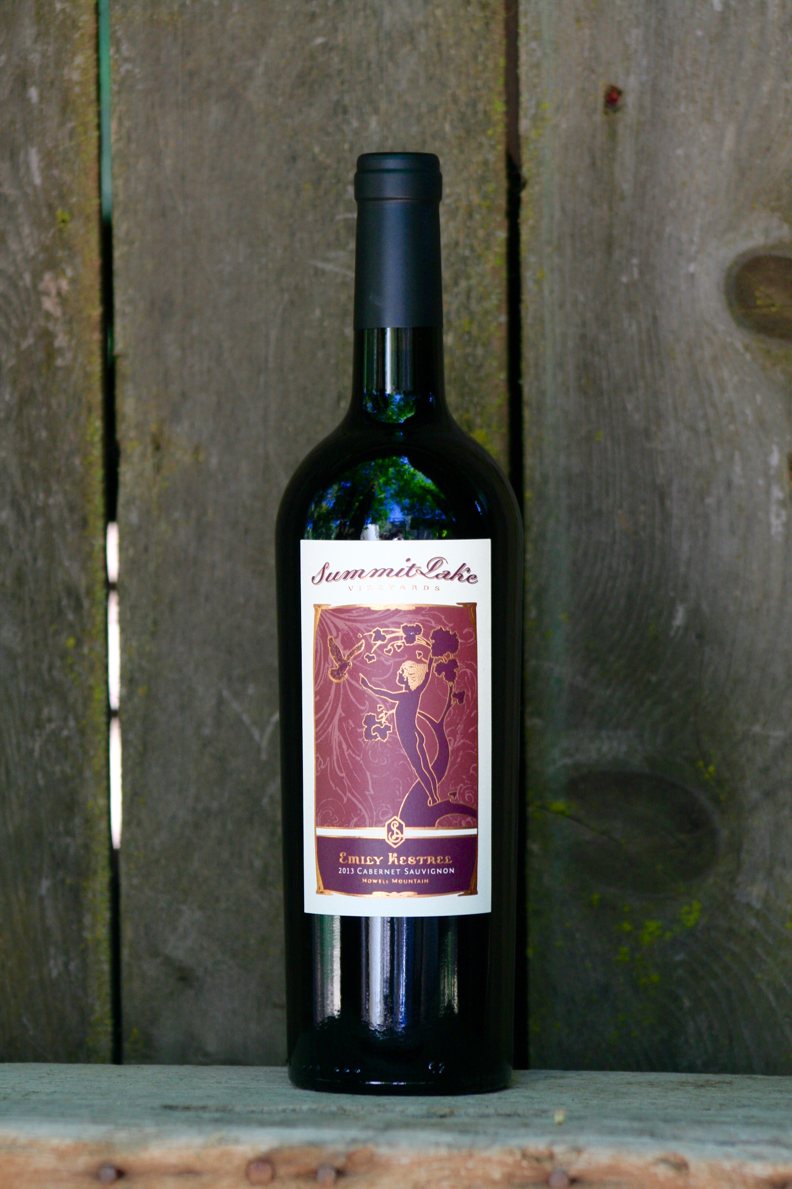 2013 Emily Kestrel Cabernet Sauvignon 750 Howell Mountain, Napa Valley - Summit Lake Vineyards & Winery