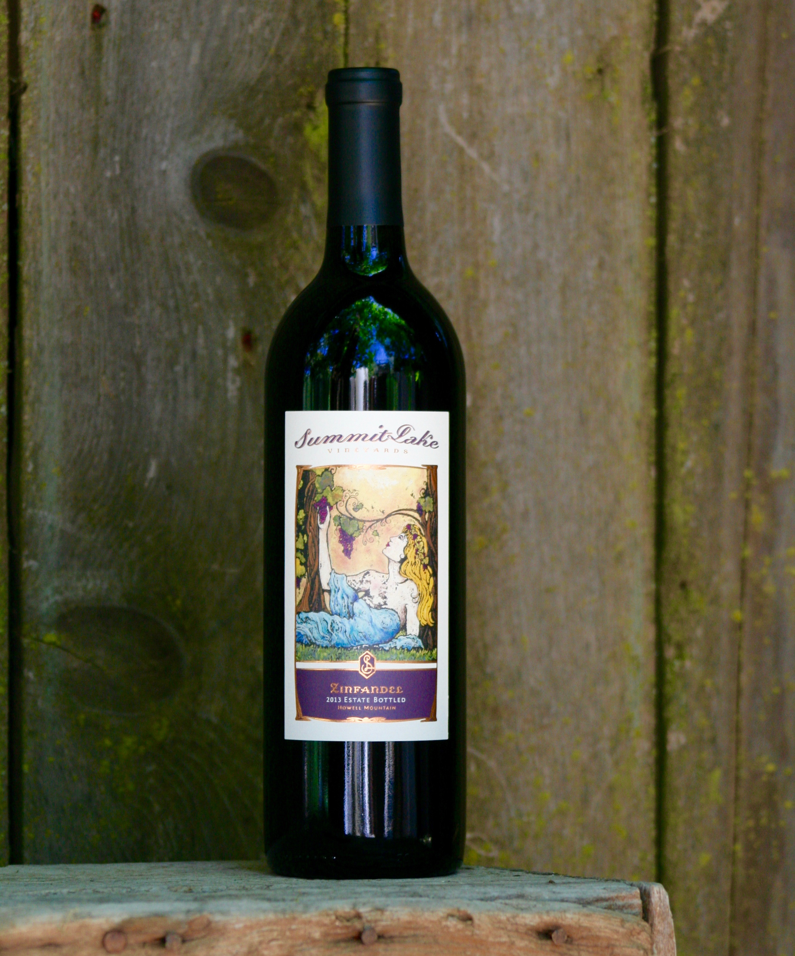 2013 Summit Lake Vineyards Zinfandel Howell Mountain, Napa Valley - Summit Lake Vineyards & Winery
