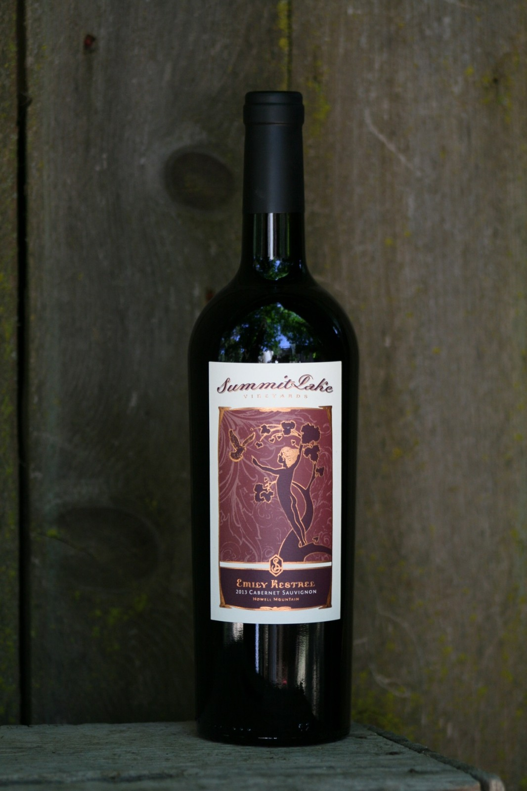 2014 Emily Kestrel Cabernet Sauvignon 750 Howell Mountain, Napa Valley - Summit Lake Vineyards & Winery