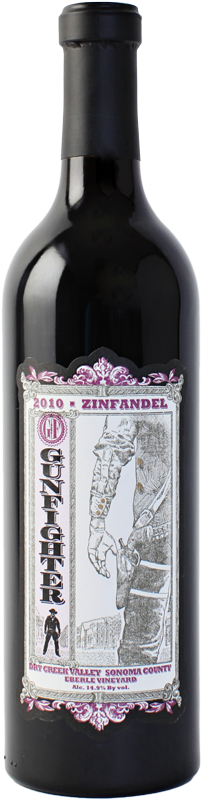 Gunfighter Eberle Zinfandel 2010 Eberle Vineyard, Dry Creek - 3Finger Wine Company