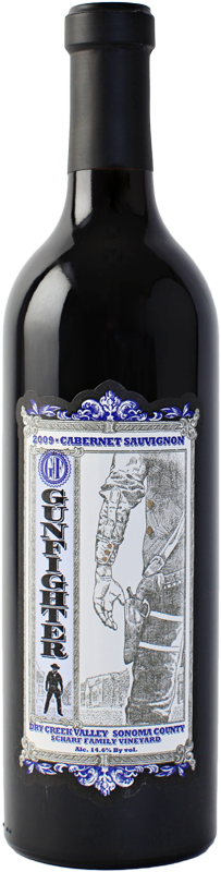 Gunfighter Cabernet Sauvignon 2009 Scharf Family Vineyards, Dry Creek - 3Finger Wine Company