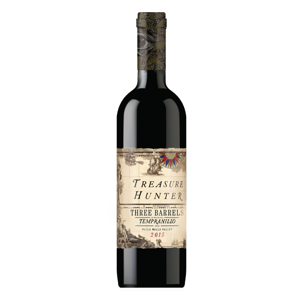 Three Barrels 2015 Tempranillo - The Authentic 3 Finger Wine Company