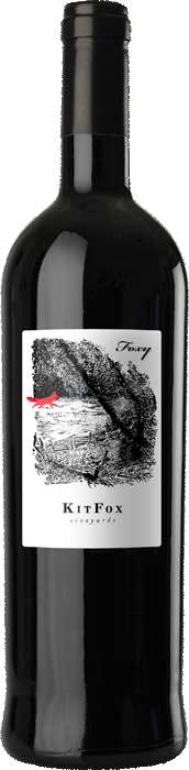 KitFox Vineyards Foxy Proprietary Red 2009 California Red Blend - The Authentic 3 Finger Wine Company