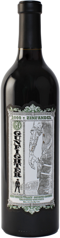 Gunfighter Zinfandel 2009 Treborce Vineyard, Dry Creek - 3Finger Wine Company