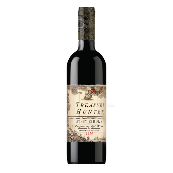 Gypsy Riddle 2014 Proprietary Red Blend - Paso Robles - The Authentic 3 Finger Wine Company