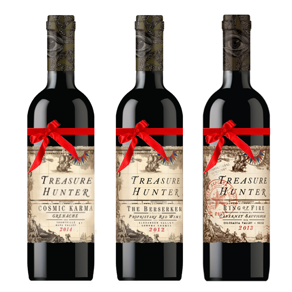 Holiday Gift 6-pack Select Release of 3 Finger Wines - The Authentic 3 Finger Wine Company