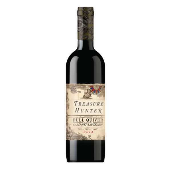 FULL QUIVER 2014 Cabernet Sauvignon - The Authentic 3 Finger Wine Company