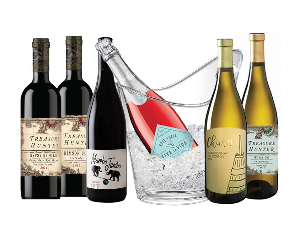 Summer 6-pack regular shipping rates apply... - The Authentic 3 Finger Wine Company