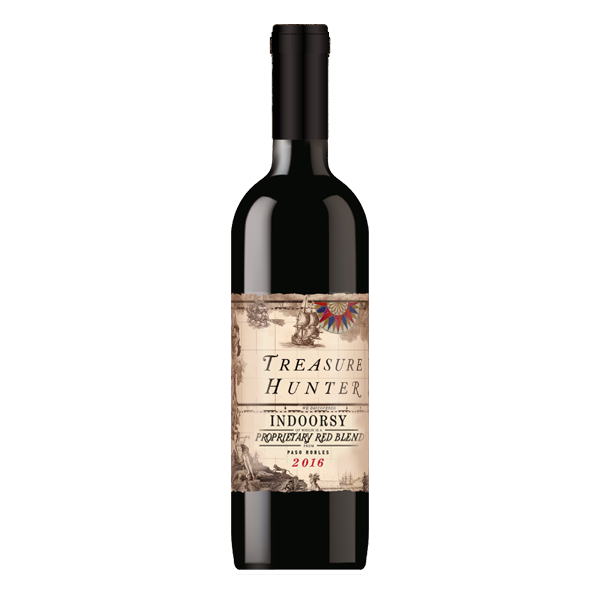 Indoorsy 2016  Paso Robles Proprietary Red Blend - The Authentic 3 Finger Wine Company