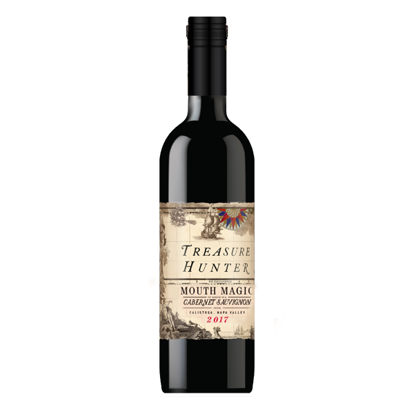 Mouth Magic - SPECIAL PRICING! 2017 Calistoga Cabernet Sauvignon - The Authentic 3 Finger Wine Company