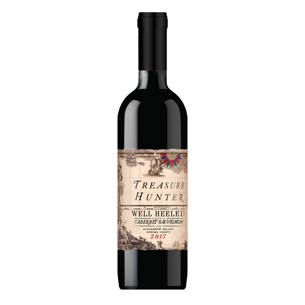 Well Heeled 2017 Alexander Cabernet Sauvignon - The Authentic 3 Finger Wine Company