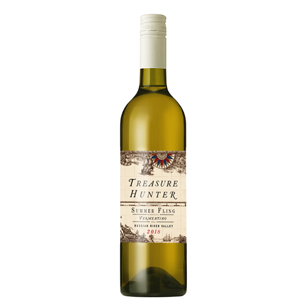 Summer Fling 2018 Russian River Vermentino - The Authentic 3 Finger Wine Company