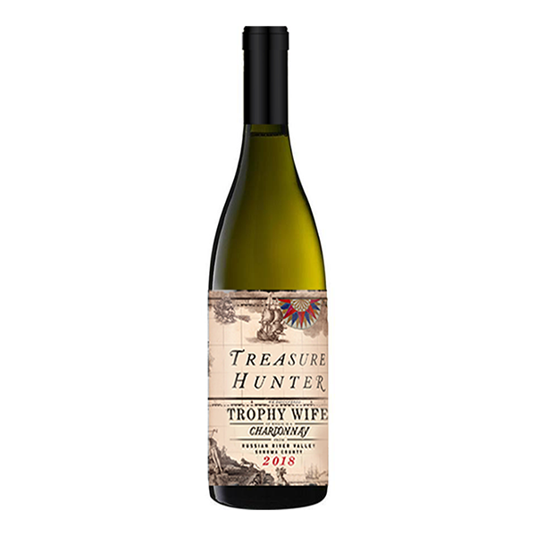 Trophy Wife 2018 Russian River Chardonnay - The Authentic 3 Finger Wine Company