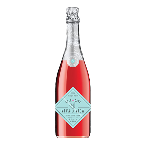 Viva La Vida Pinot Noir Rosé Cava - The Authentic 3 Finger Wine Company