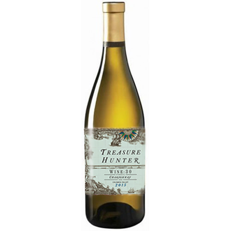 Treasure Hunter - WINE:30 2015 Chardonnay - Ancient Lakes, WA - The Authentic 3 Finger Wine Company