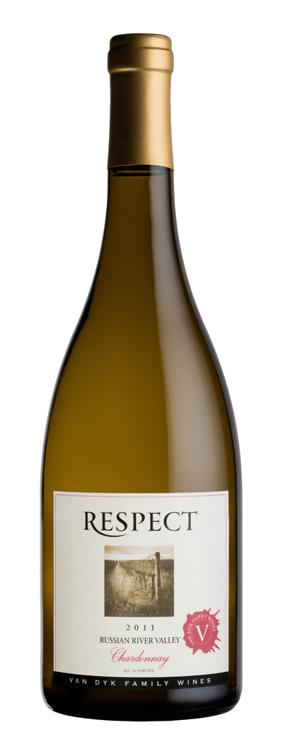 2011 Van Dyk Family Wines Respect Chardonnay  Russian River Valley 1.5L Magnum - Van Dyk Family Wines