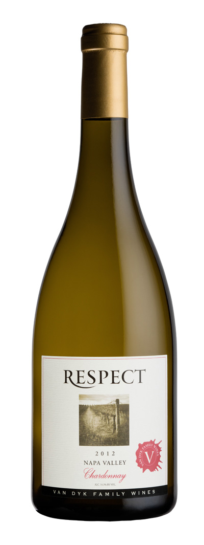 2012 Van Dyk Family Wines Respect Chardonnay Napa Valley 750ml - Van Dyk Family Wines