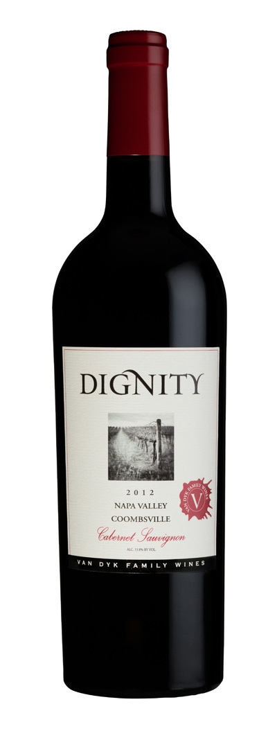 2012 Van Dyk Family Wines Dignity Cabernet Sauvignon Coombsville 375ml - Van Dyk Family Wines