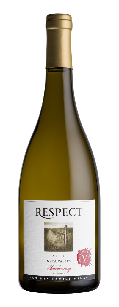 2014 Van Dyk Family Wines  Respect Chardonnay Napa Valley 750ml - Van Dyk Family Wines