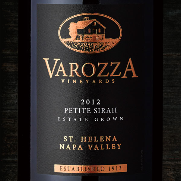 2012 PETITE SIRAH 1.5L  - Varozza Vineyards