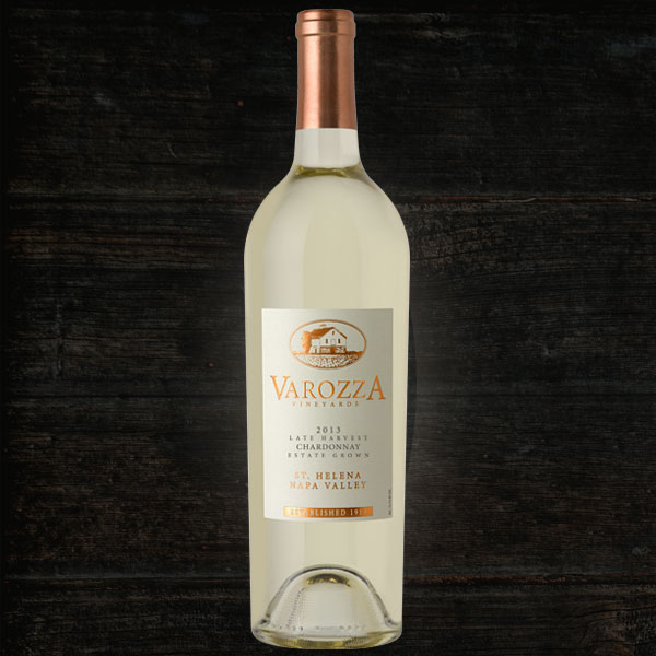 2013 Late Harvest Chardonnay 500ml  - Varozza Vineyards