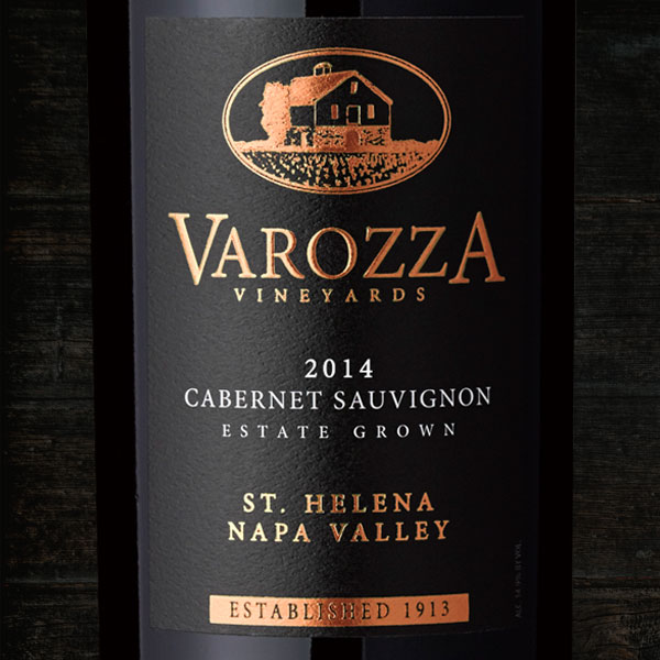 2014 CABERNET SAUVIGNON  - Varozza Vineyards
