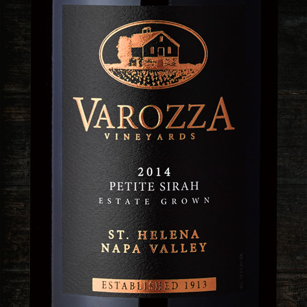 2014 PETITE SIRAH MAGNUM  - Varozza Vineyards