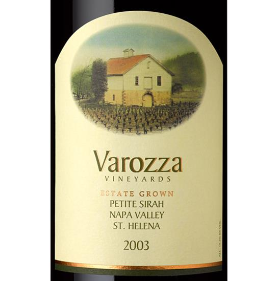 2003 Petite Sirah  - Varozza Vineyards