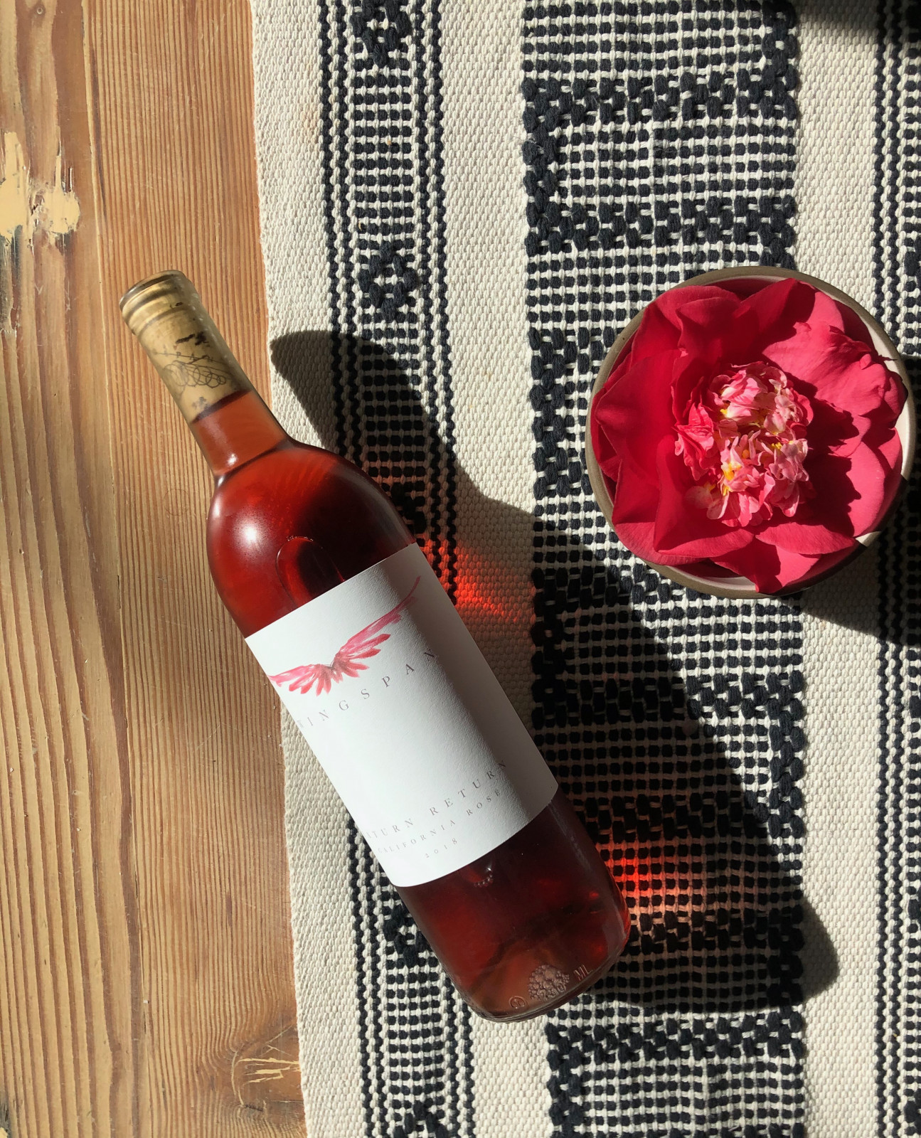 SATURN RETURN Rosé 2018 - WINGSPAN Wine