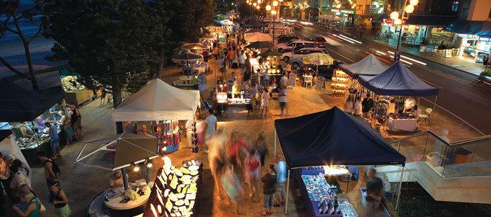 Night market wide