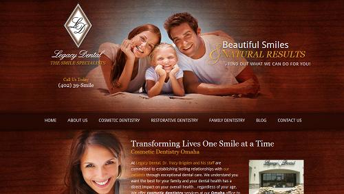 Legacy Dental Website